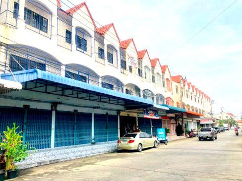 ขายถูกมากอาคารพาณิชย์ถนนเลียบคลองภาษีเจริญฝั่งเหนือ