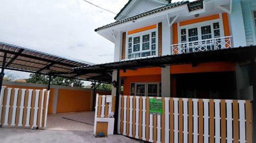 ขายถูกทาวน์เฮาส์บ้านพฤกษา18 ซอยแก้วอินทร์ บางใหญ่ นนทบุรี บ้านสวยมากหลังมุม สวยมาก กู้ได้เต็ม