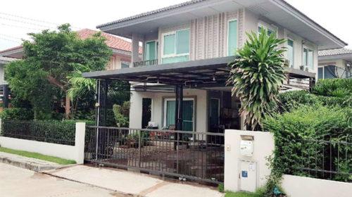 ขายบ้านเดี่ยวคณาสิริศาลายา นนทบุรี บ้านสวยขายถูกสุดในโครงการ ถูกกว่า ตกแต่งสวย กู้ได้เต็ม