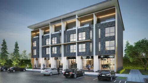 ขายอาคารพาณิชย์ศรีนครินทร์ บางนาตราด  เนื้อที่ 28-32 ตารางวา 4 ชั้น 3 ห้องนอน 4 ห้องน้ำ หน้ากว้าง 5 ม. พื้นที่ใช้สอย 280 ตร.ม. ราคาถูกสุดในย่านนี้