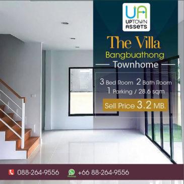ขายบ้านtownhome-the-villa-บางบัวทอง