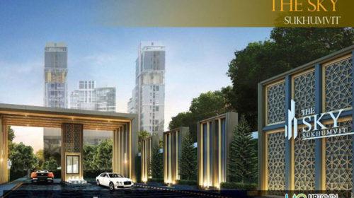 FOR Sales The Sky Sukhumvit 1 Bedroom 35 Sqm Price 3,900,000 Baht