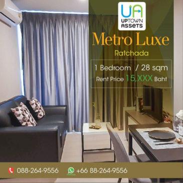 for-rent-metro-luxe-ratchada-1-bedroom