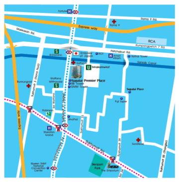 Supalai Premier Place Asoke Bangkok CBD condo sale