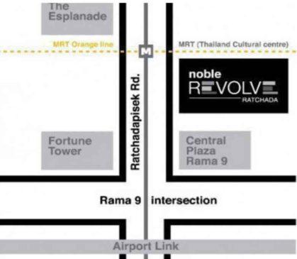 ขายคอนโดNoble Revolve Ratchada2พร้อมเฟอร์นิเจอร์และเครื่องใช้ไฟฟ้าครบ