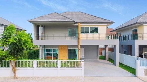 ขายบ้านเดี่ยวหรูวัชรพล บ้านทองสถิตย์9 บ้านเดี่ยวที่ดินเยอะใจกลางวัชรพล  เริ่ม 7,xx ล้าน บ้านใหม่ในโครงการกู้ได้สูงย่านวัชรพล-รามอินทรา กู้ได้สูง
