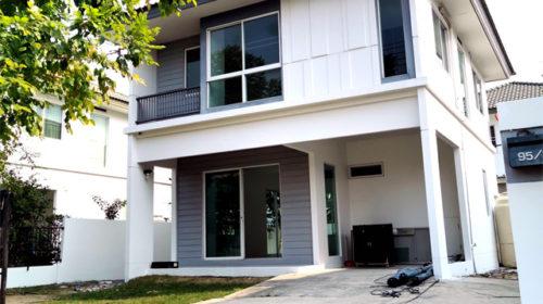 ขายบ้านเดี่ยวINIZIO วงแหวน-ปิ่นเกล้า เนื้อที่ 52.50 ตร. ถูกที่สุดในโครงการ เพียง 3.65 ล้าน กู้ได้เต็ม