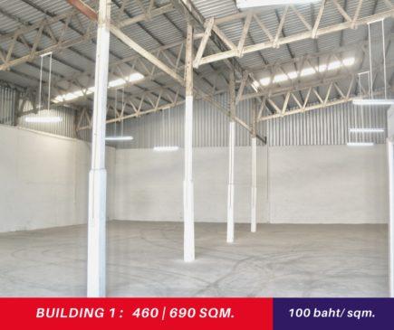 Warehouse/factory Near Amata nakorn for rent