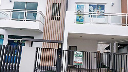 บ้านเดี่ยวcozy by bntd สตรีวิทยา2  38.10 ตารางวา ใกล้รถไฟฟ้าสายสีเหลือง สถานีรัชดา32 และ สถานีโชคชัย4