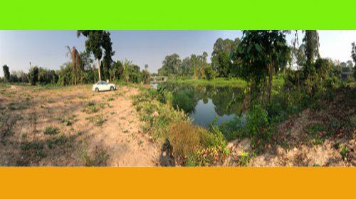 ขายที่ดินในเมืองนครนายกติดแม่น้ำ เหมาะสร้างบ้านริมน้ำส่วนตัว  รีสอร์ท ร้านอาหาร  ห่างจากที่ว่าการอำเภอเมืองนครนายกเพียงแค่ 5นาที