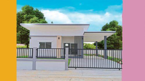 บ้านใหม่บ้านโพธิ์ โครงการบ้านใหม่บ้านโพธิ์-โคราช บ้านเดี่ยวโครงการบ้านจัดสรร