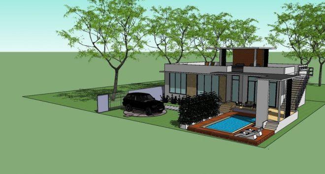 ขายบ้านที่ดินเกาะสมุย เหมาะสร้างบ้าน