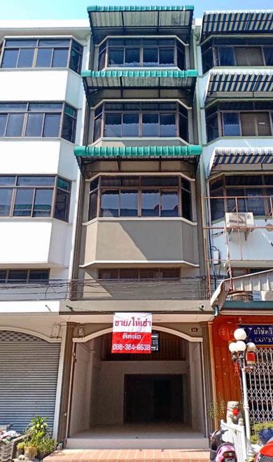ขายอาคารพานิชย์เพชรเกษม69 ขายตึกแถวเขตบางแค ตึกแถวบางแคขายถูกกู้ได้สูง