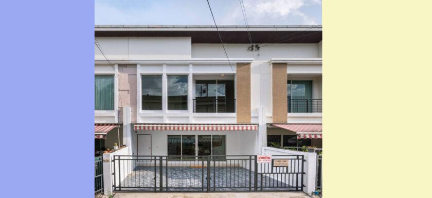ขายบ้านกลางเมืองS-sence บ้านหลุดจองทำเลดี ทาวน์โฮม2ชั้น-อ่อนนุช-วงแหวน